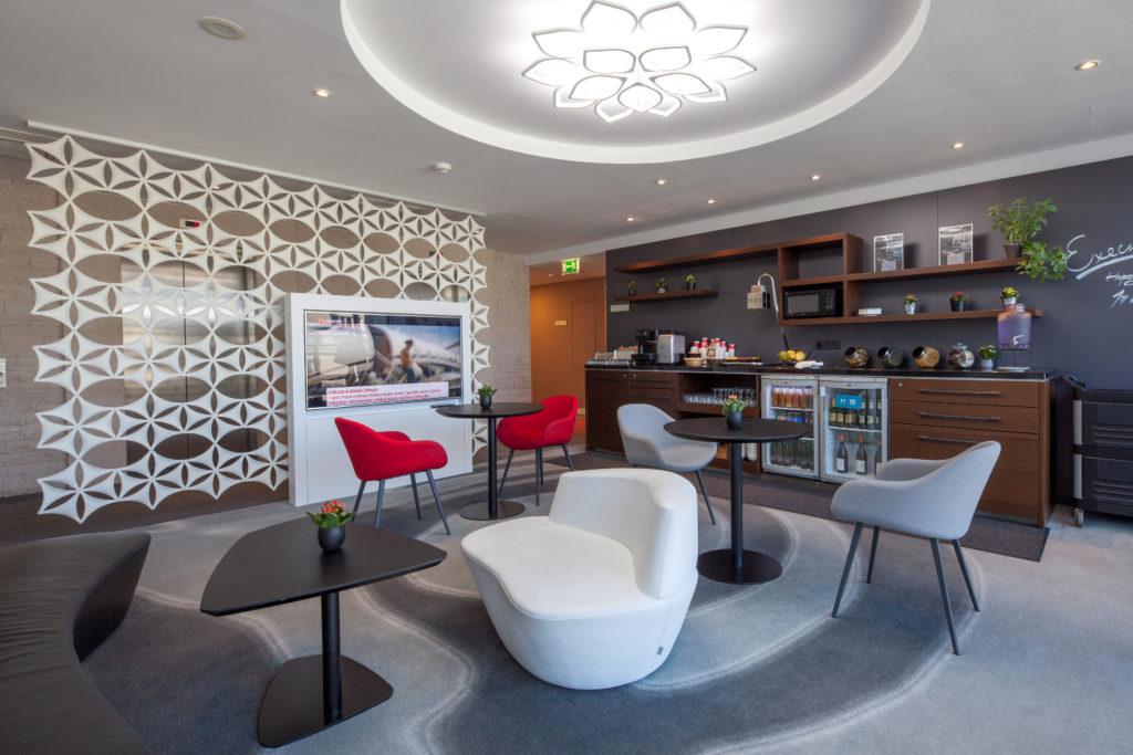 VIENNA HOUSE ANDĚL ́S PRAGUE – vybavení Guest lounge