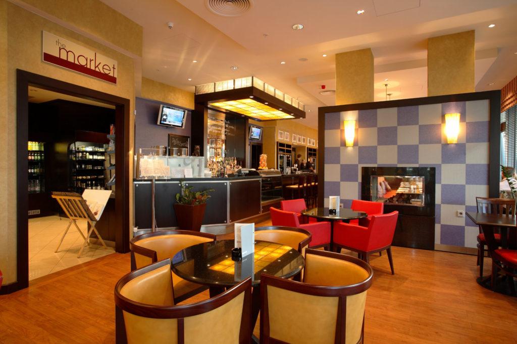 HOTEL MARRIOT **** – Dodávka nábytkového vybavení hotelových pokojů, kompletní vybavení interiérů všech veřejných prostor