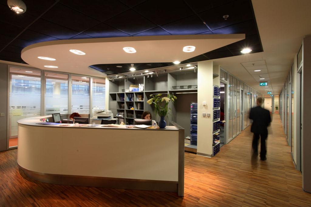 ORCO PROPERTY GROUP – Dodávka interiéru recepce, kuchyněk a úložných prostor
